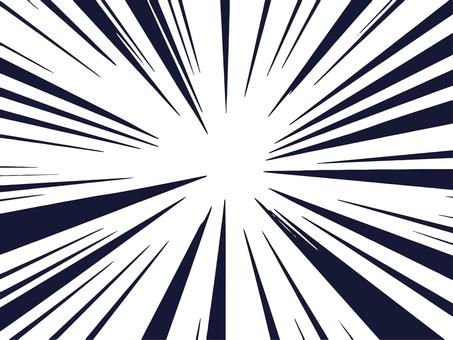Emphasis effect line