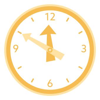 시계 _ 오렌지
