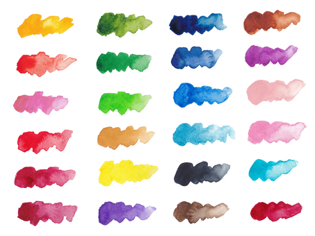 Watercolor stroke-2