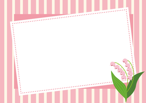 Lily of the lily Background material 1