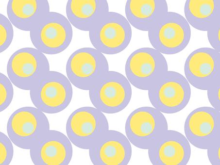 Seamless dot pattern purple