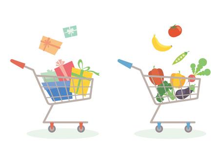 Shopping cart _ 2 kinds