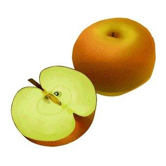Pear, cut