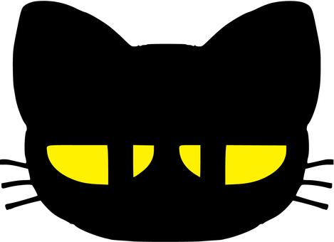 Blunt black cat