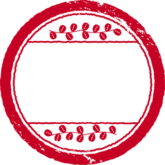 Stamp material Red