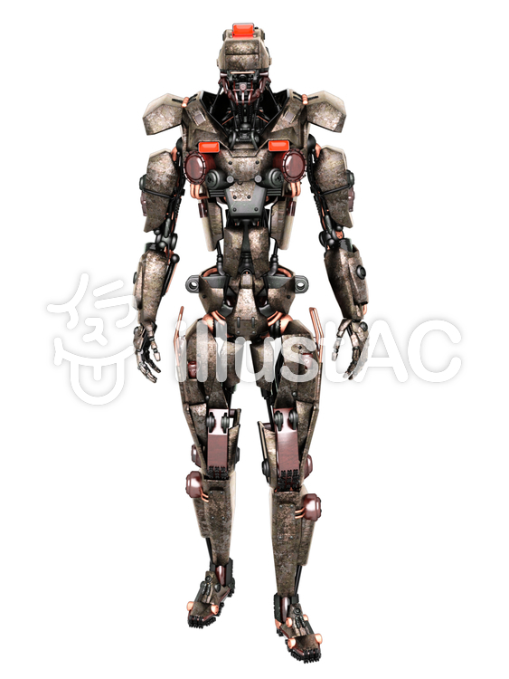 ロボットソルジャーのイラスト