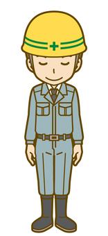 Male (worker): D_ bow 01FS