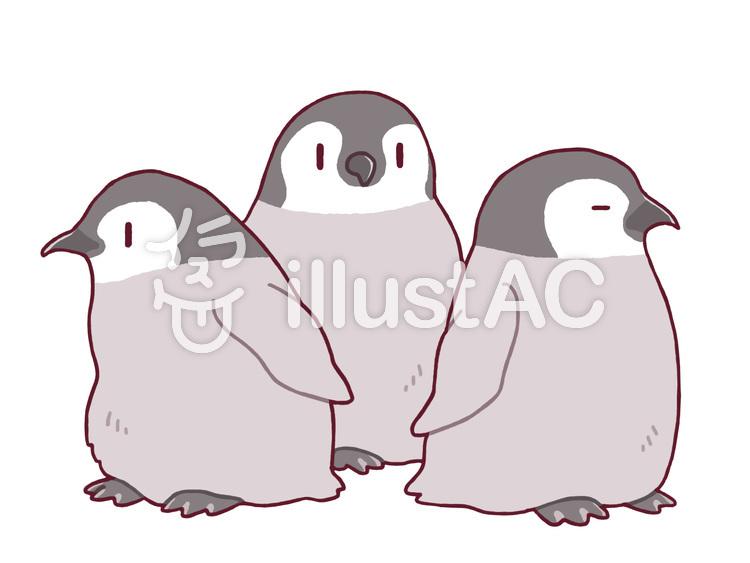 ペンギンの赤ちゃんイラスト No 526464無料イラストならイラストac
