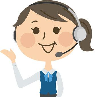 Operator female employee