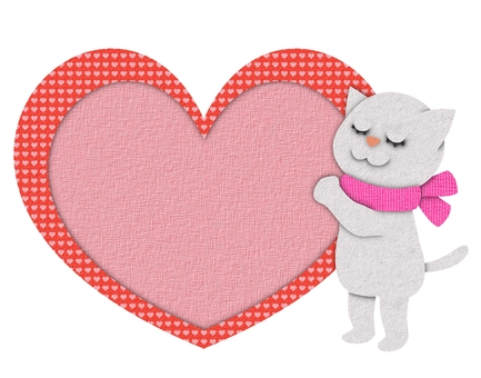 Heartcat 4 (pasted picture style)
