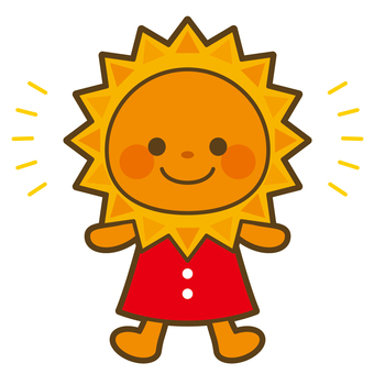 Weather and sun character