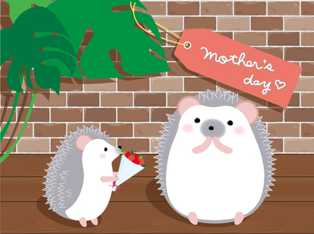 Seasonal Mother's Day (Hedgehog 2)