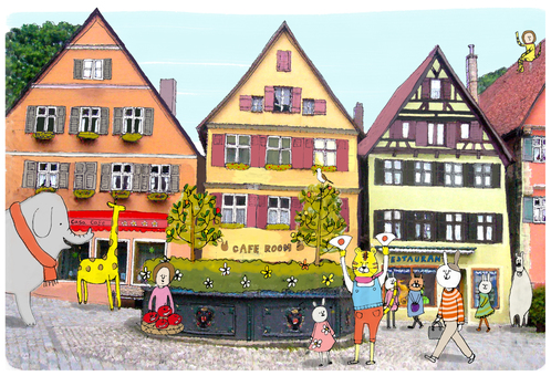 German cityscapes _ no character version