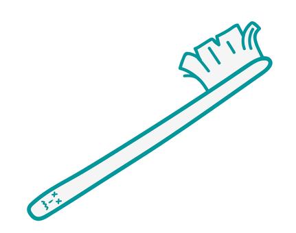 Open toothbrush
