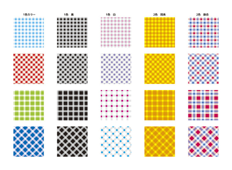 Swatch series Gingham check