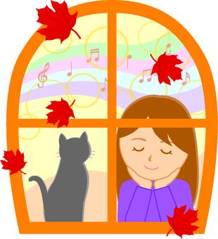 Listen to music of autumn's night long 3