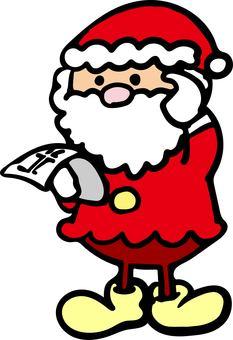 Lost child Santa