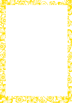 Wallpaper line yellow