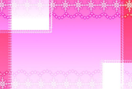 눈송이 카드 2