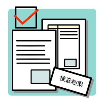 Inspection result paper ②