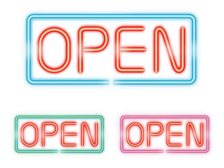 OPEN (neon tube)