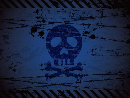 Skull background 04