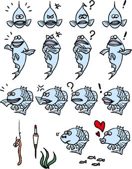 Fish character 1