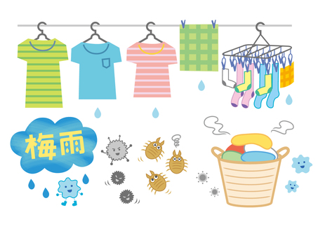 Rainy season _ laundry