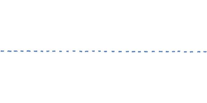点線_手描き_青色