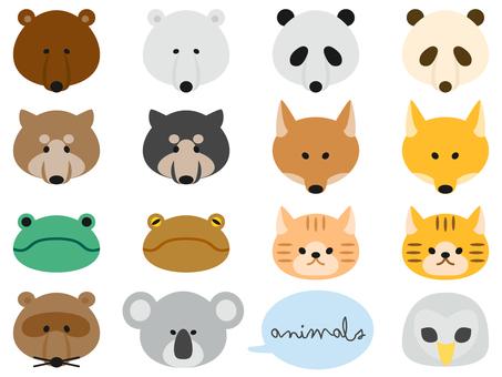 Animal face