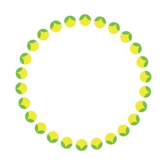 Circular material -163