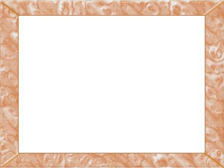 框架(棕色大理石)