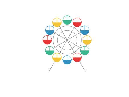 Ferris wheel (4 colors)