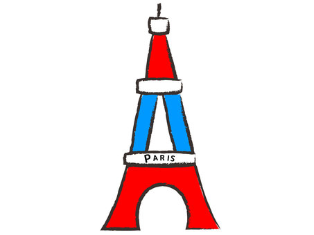 Eiffel Tower of Tricolore