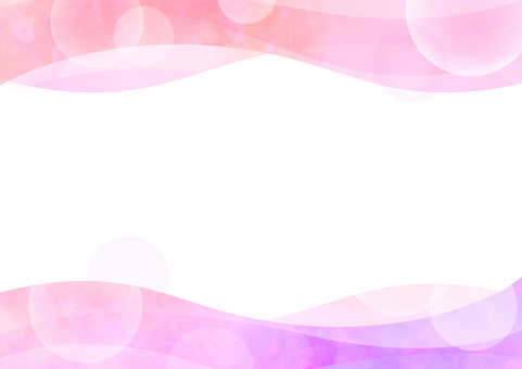 Background material Wave Pink × Purple
