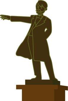 Statue of Dr. Clark