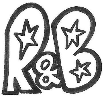 R & B Aharu-noda logo logo