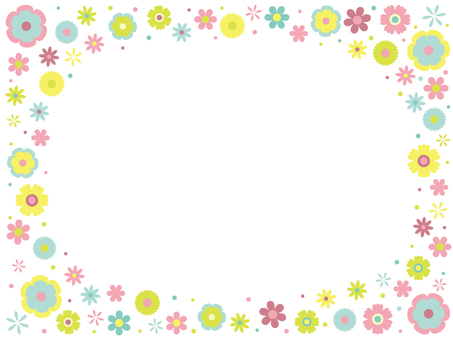 Colorful Pop Flower Frame ~ Part 4 ~