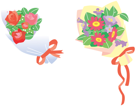 Two kinds of bouquet