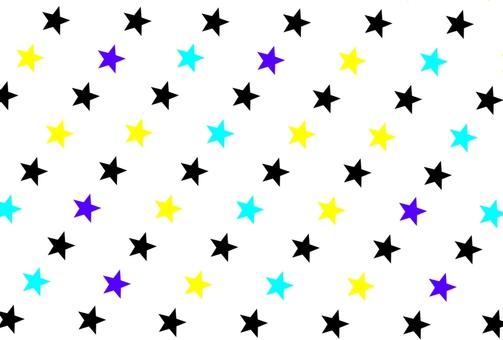 星背景白色
