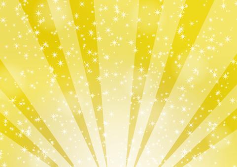 Luxurious glittering radiation