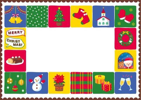 Frame Christmas