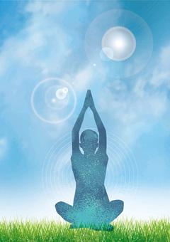Nature and yogi