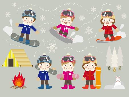Winter game 30 (snowboard 09)
