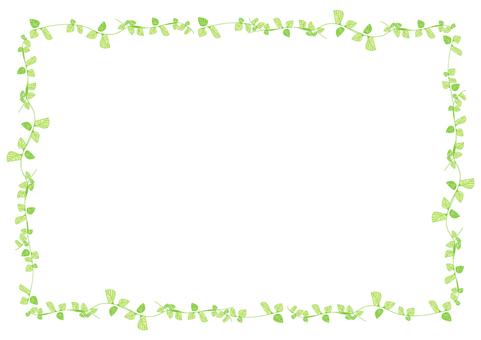 Leaf frame (green)