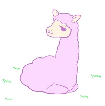 Alpaca 【Sitting】