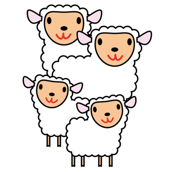 Animals - Sheeps and Children-04