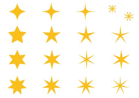 星の形 色々