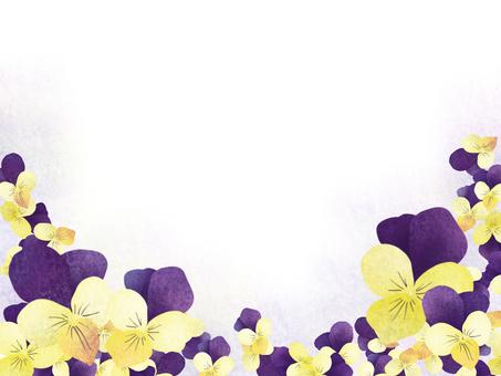 日本模式三色紫羅蘭色