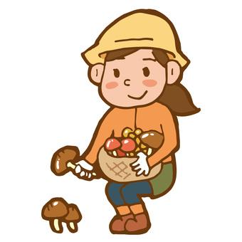 버섯 사냥